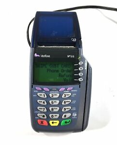 Verifone Vx510 Credit Card Terminal With Power Supply Omni 3730 Le