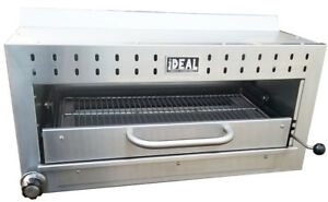New 36 Commercial Salamander Broiler By Ideal Cooking Products Made In Usa