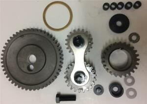 Oldsmobile 400 425 455 Dual Idler Quiet Timing Gear Drive Set Kit