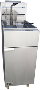 Deep Commercial Fryer 4 Tube 50 Lbs By Ideal Cooking Products Csa Approved
