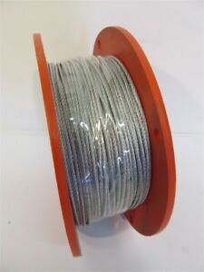 Duro Dyne 30202 3 32 Wc3 cl12 Wire Rope Galvanized 500 Ft