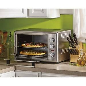 Kitchen Countertop Pizza Oven Steel Commercial Concession Electric W Rotisserie