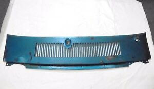 1969 1970 Mustang Cowl Vent Grill Panel
