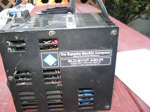 Indexer Motor Drive Superior Electric Company Vintage indexer Motor Drive