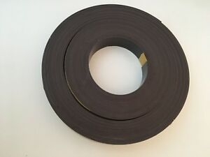 Mastervision Fm2021 Magnetic Adhesive Tape Roll Black 1 X 50 Ft