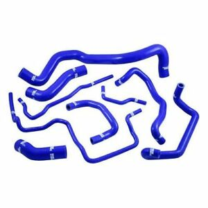 Samco Tcs195c Blu Radiator Coolant Hose Kit 9pc For Volkswagen Golf Mk4 1 8t