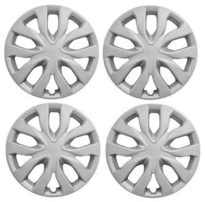 New 17 Hubcap Wheelcover That Fits 2014 2018 Nissan Rogue Set Of 4 Hub Caps