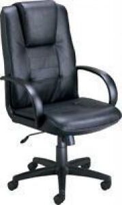 New Ofm Quality Leather Office Chair 500 l High Back Executive Conference Chair