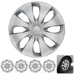 15 Inch Hubcaps 4 Pieces Set Durable Prius Style Hub Cap Covers Wheels