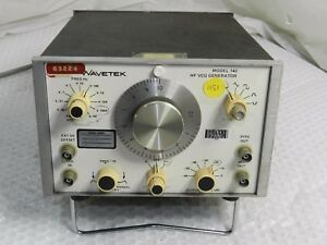 Wavetek 142 High Frequency Voltage Controlled Signal Generator Function Gen f1