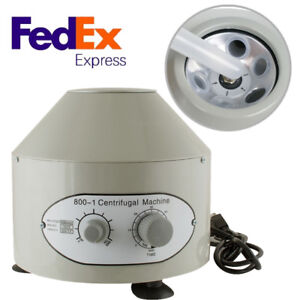 Electric Medical Lab Centrifuge Machine 800 1 4000rpm Isolate Serum Laboratory