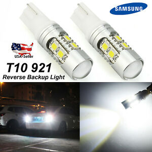 2x 921 Super Bright White Led Car Reverse Backup Light Bulbs 2014 2017 For Honda
