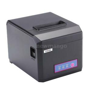 High speed 300mm s Pos Receipt Paper Barcode Thermal Printer Usb lan For Market