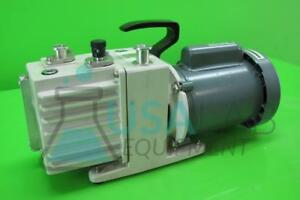 Leybold Trivac D2ac Dual Stage Rotary Vane Vacuum Pump