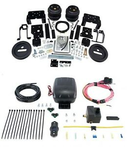 Air Lift Control Air Spring Single Air Compressor Kit For F 250 350 Super Duty