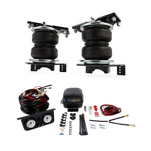 Air Lift Control Air Spring Dual Leveling Kit For F 450 350 250 Super Duty Drw