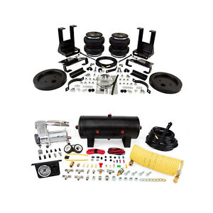 Air Lift Control Air Spring Single Path Compressor Kit For Dodge Ram 2500 4wd