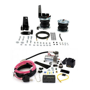 Air Lift Control Air Spring Wireless Air Compressor Kit For 05 Ford Excursion