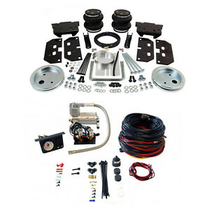 Air Lift Control Air Spring Dual Path Leveling Kit For Dodge Ram 3500 2500 Rwd