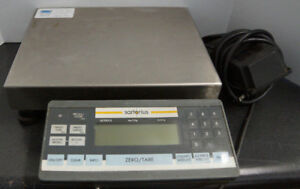 Sartorius Model Qc7cce s Bench Scale Piece Count