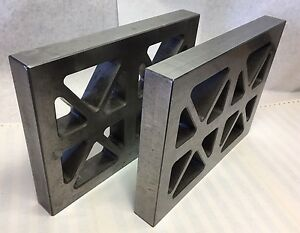 Pair Of Machinist Straight Edge Parallels 12 X 9 X 1 1 2 l1