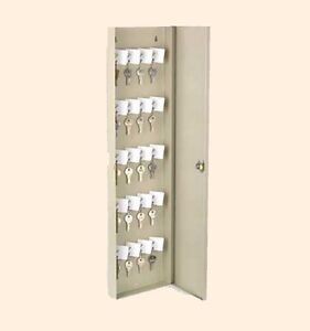 50 Key Safety Lock Box Shop Office Wall Mount Cabinet Safety Control Steel Case