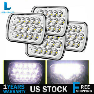7x6 7x5 Led Hid Light Bulbs Clear Sealed Beam Headlight 1 Lamp Headlamp