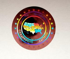 Hologram Labels Sticker Warranty Void If Removed Tamper Proof made In Usa