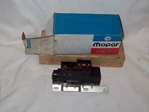 Nos 79 80 81 82 83 84 88 Dodge Chrysler Plymouth Ignition Starter Switch 4115882