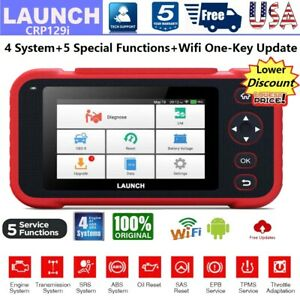 Automotive All Systems Obdii Diagnostic Scanner Eng Abs Srs Tpms Esp Scan Tool