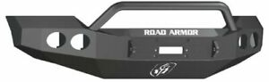 Road Armor 61104b Front Black Pre Runner Guard Winch Bumper For Ford F 250 F 350