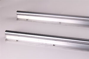 Fully Supported 2pcs Rail Dia 25mm Linear Motion Sbr25 600 Shaft Rod For Cnc