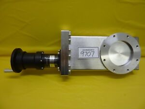 Mdc Vacuum Products 306005 Manual Gate Valve Lgv 4000g Nw100 Used Working