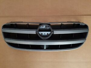 Fits 2002 2003 Nissan Maxima Front Bumper Grille Black And Silver New