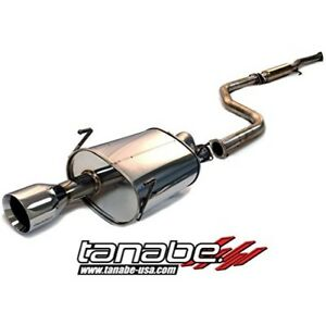 Tanabe T70001 Medalion Touring Cat back Exhaust For 1994 2001 Integra Rs Ls Gs