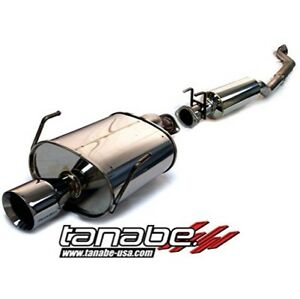 Tanabe T70049 Medalion Touring Cat back Exhaust For 2002 2005 Civic Si Hatchback