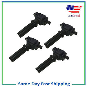 Ignition Coil For 2013 2016 Ford Edge Focus Lincoln Mkz 2 4l Ufd670 4 Set 4pcs