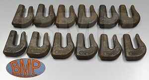 12 Weld On Grab Chain Hooks 5 16 G70 Wll 4 700 Bucket Trailer Rigging 0900103 a
