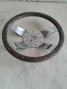 Wood Antique Steering Wheel Fits Many Models
