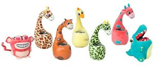 Plush Cute Pen Pot Desk Holder Stationery Animal Kids Toy Tidy Pencil Organiser
