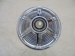 1965 Mustang Spinner Style Wheel Hub Cap Without Spinner 14