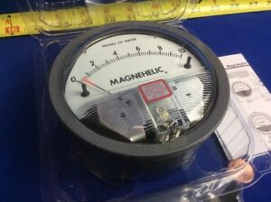 Dwyer 2010 Magnehelic Differential Pressure Gage 0 10 15psig Max