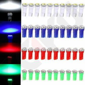 40x T5 74 3 Smd 3014 Led Speedometer Instrument Gauge Cluster Dash Light Bulbs