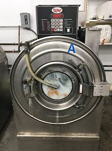 Commercial Laundry Equiptment 2 50 Lb Unimac Washers 3 50 Lb American Dryer Co