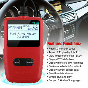 Foxwell Nt630elite Obd2 Code Reader Scanner Diagnostic Tool Abs Airbag Srs Reset
