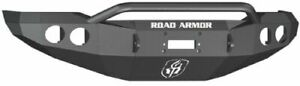 Road Armor 99034b Front Black Steel Pre Runner Guard Winch Bumper For Tundra
