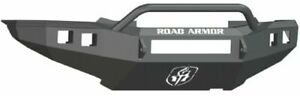 Road Armor 905r4b nw Front Black 3 16 Steel Pre runner Guard Bumper For Tacoma