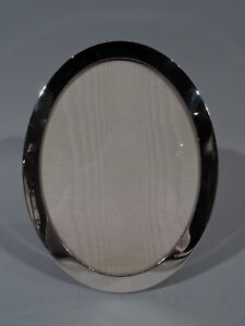 Tiffany Frame 25033 Oval Picture Photo Wood Back American Sterling Silver