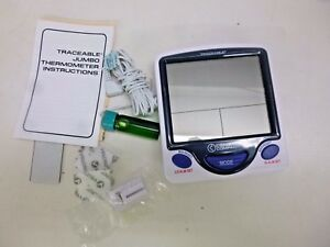 New Traceable Digital Thermometer 5 Ml Vaccine Jumbo 4648
