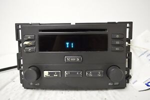 05 06 Chevrolet Cobalt Pontiac Pursuit G5 Radio Cd Player 15235437 H18 009